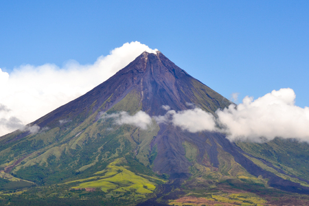 Mayon Volcano Banque d'images