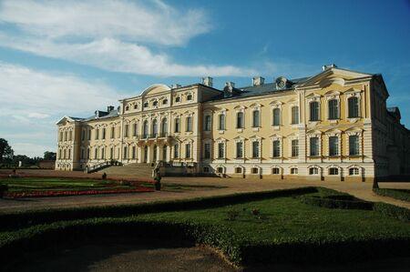 rundale: Rundale Palace (Pilsrundale), Bauska regione, la Lettonia