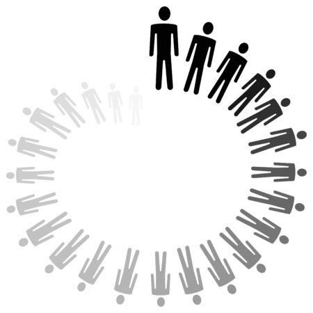 persoonlijke groei: Conceptuele afbeelding van persoonlijke groei