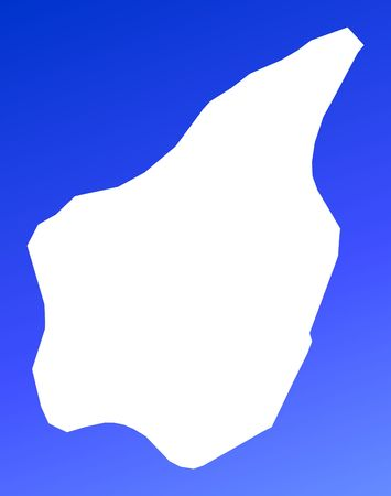 marino: San Marino map on blue gradient background. High resolution. Mercator projection. Stock Photo
