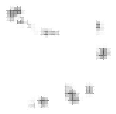 verde: Cape Verde map pixels mosaic. Easy to recolor.