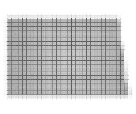 North Dakota USA Map Pixels Mosaic Easy To Recolor Stock Photo - North dakota on the us map