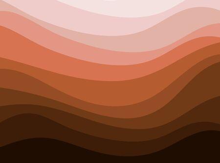 curve line: brown curve line.