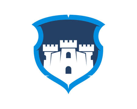 Fortress inside the shield Illusztráció