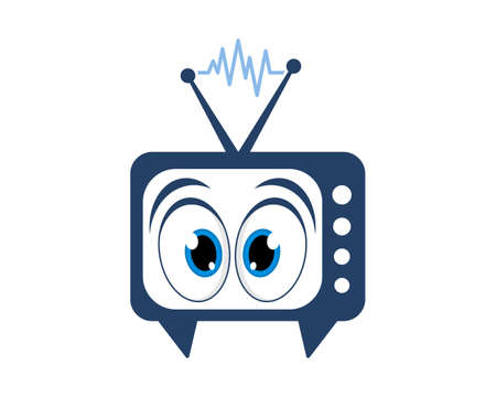 Television channel with eye inside