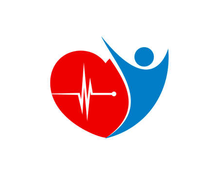 Healthy people with heart beat