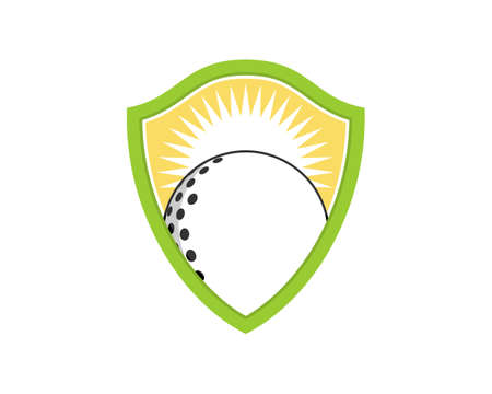Golf ball in the green shield protection