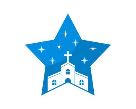Church inside the star shape