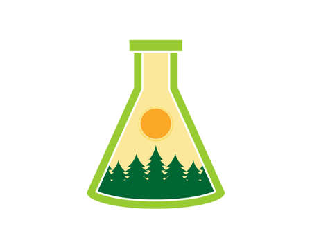 Forest in the laboratory test tube