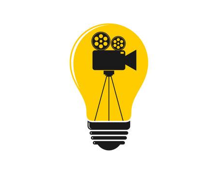 Video recorder inside the light bulb