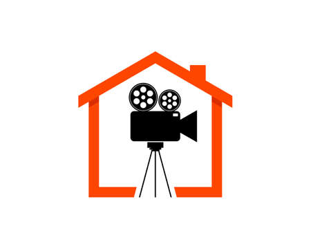 Simple house with video recorder inside