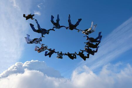 Formation skydiving