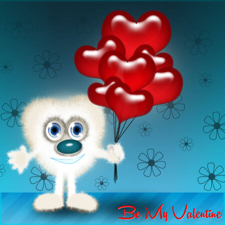 to be: Be my Valentine Stock Photo