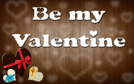 to be: be my valenine