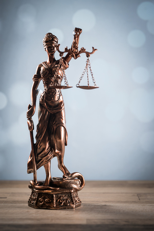 Scales of justice symbol - legal law concept image Stock fotó