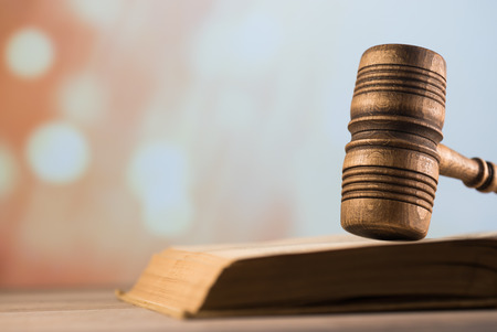 Law theme. Courtroom concept. legal lawyers symbols
