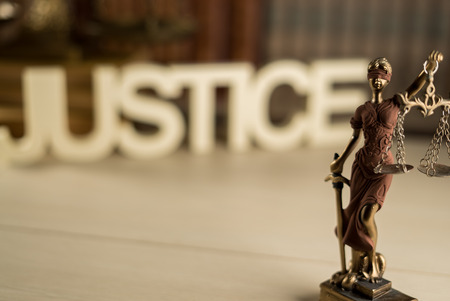 Law and justice. 版權商用圖片