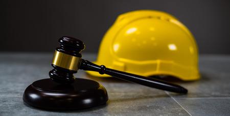 construction law Stock Photo