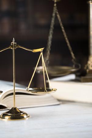 Juridisch kantoor van advocaten en advocaten. Stockfoto