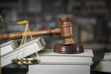 Law theme. Courtroom concept