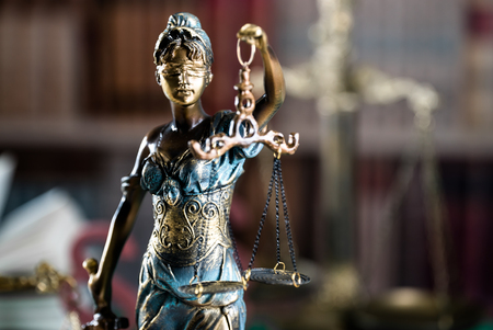 Burden of proof, legal law concept image. 写真素材