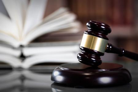 Symbool van recht en rechtvaardigheid, recht en rechtvaardigheid concept. Stockfoto