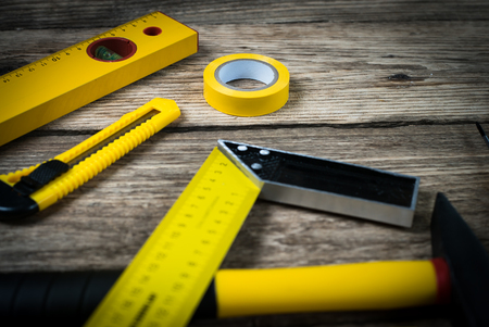 Constructor tools. Stock Photo