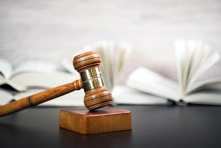 Judges Gavel. Courtroom theme
