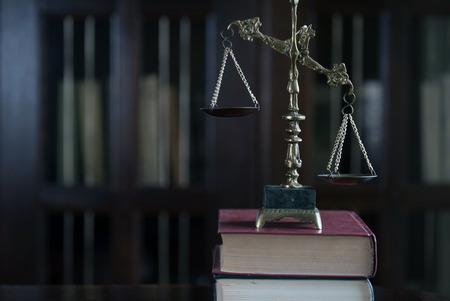 Law Concept. Judges gavel