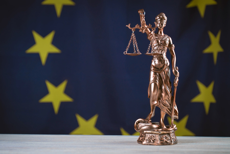 Law and Justice. Themis EU Flag