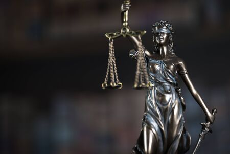 Legal, Law, Legislation Concept. Judge gavel on law books with scales of justice.