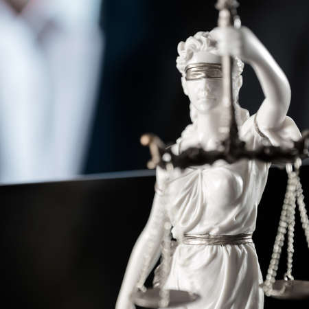 Themis, legal office Stock Photo