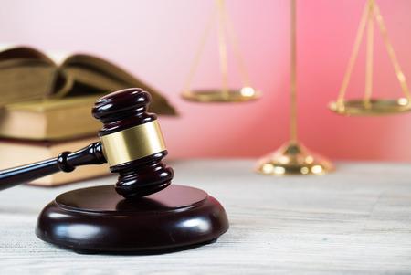 Law, lawyer, book. Foto de archivo