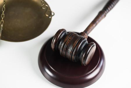 judge gavel Foto de archivo