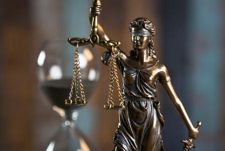 Themis in the Lawyer Office 版權商用圖片