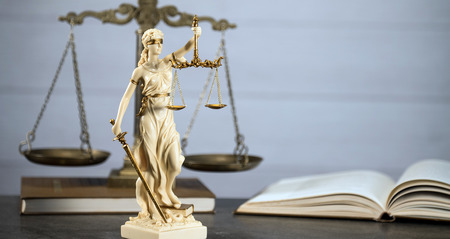 Legal law concept image, Burden of proof, Stock Photo