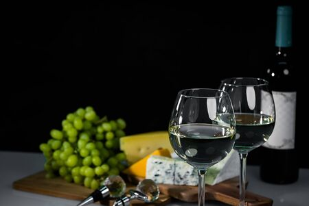 White wine and food composition
