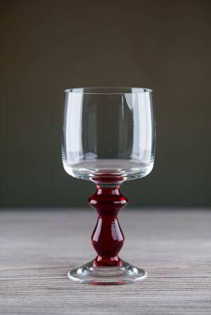 Wine glass close-up Banque d'images