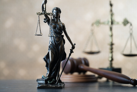 Law and Justice symbols of law Stockfoto