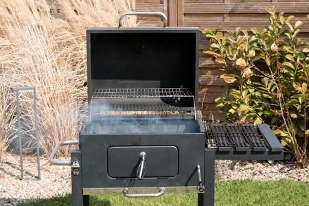 Hot Empty Charcoal BBQ Grill Foto de archivo