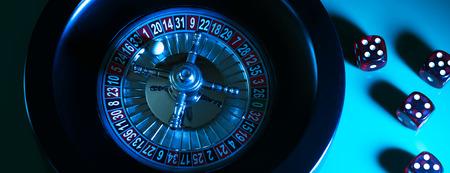Casino Roulette Game. Casino Gambling Concept