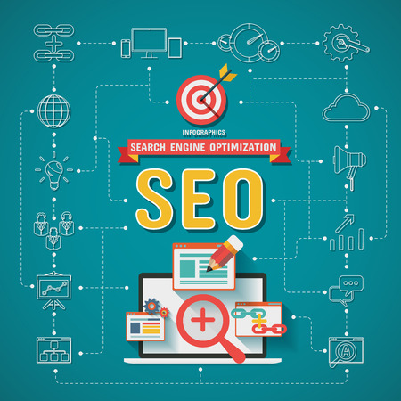 SEO Search engine optimization Infographics