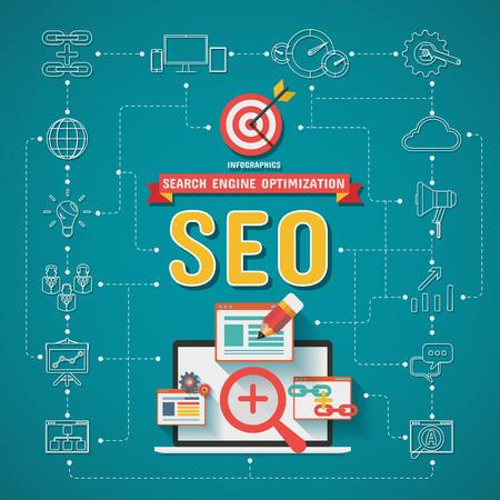 SEO Search engine optimization Infographics