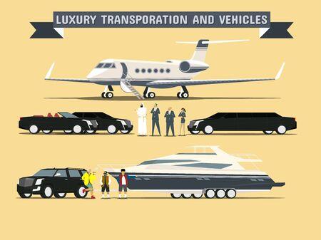 Transport et Véhicules de luxe