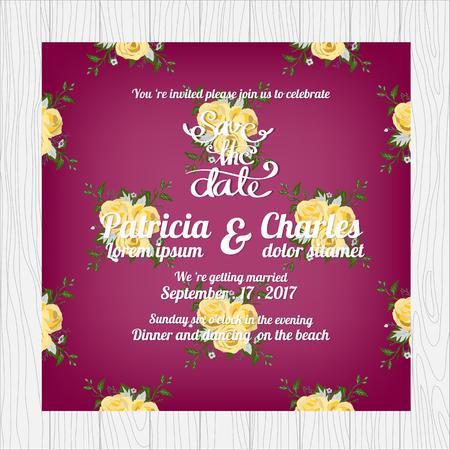 blossom background: Wedding invitation card templates, Vintage flower blossom seamless pattern background