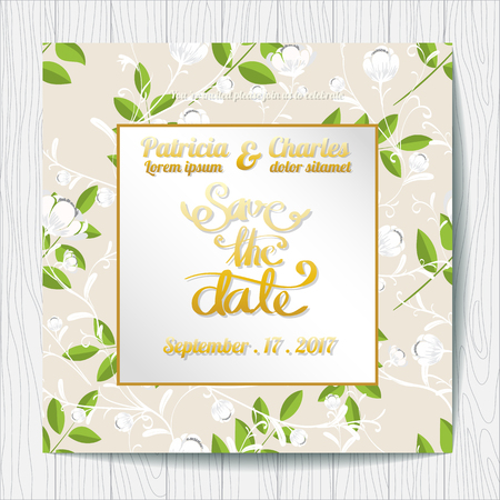 Wedding invitation card templates tropical rainforest theme 75190178 wedding invitation card templates flower fresh theme stopboris Gallery