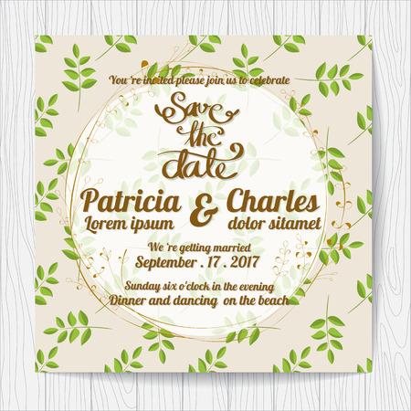 Wedding invitation card templates tropical rainforest theme 75190179 wedding invitation card templates flower fresh theme stopboris Gallery