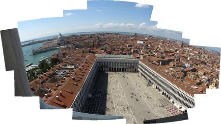 marco: Panorama Campanile San Marco