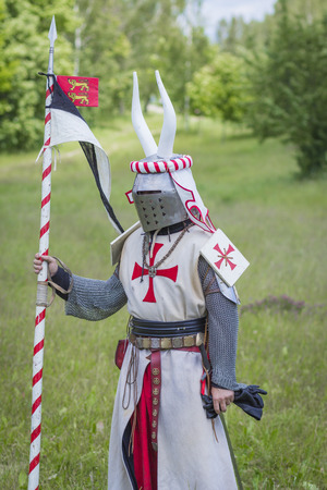 knight in  armor Stock Photo