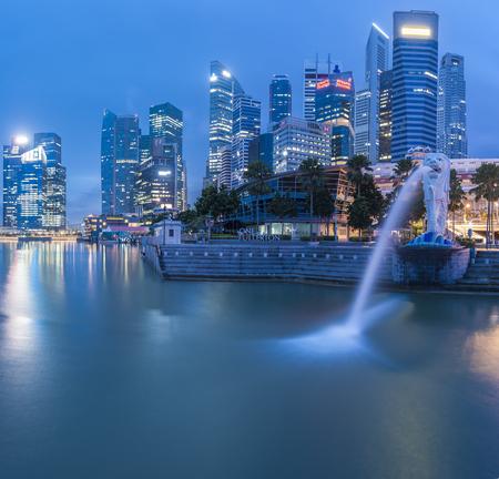 マリーナ ベイ ビジネス地区 - シンガポールの街並み